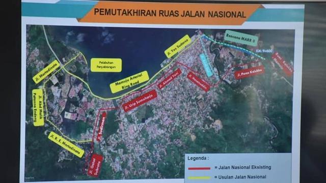 Pembangunan Jalan Arteri II di Mamuju Mulai Dilaksanakan Januari 2022 (277669)