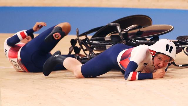Duh, Tim Sepeda Inggris Raya Kecelakaan Usai Selebrasi di Olimpiade 2020 (25937)