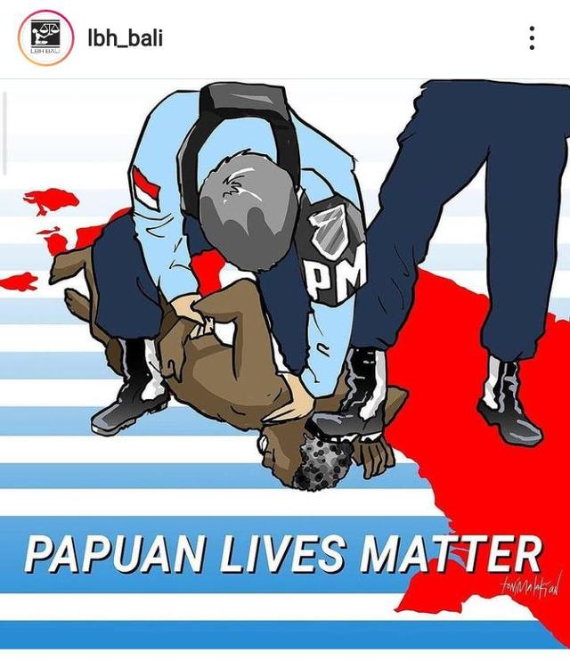 Polda Bali Dalami Laporan Dugaan Makar LBH Bali dan 4 Mahasiswa Papua (876446)