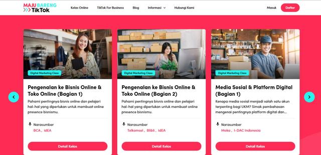 TikTok Beri Edukasi Digital Marketing Gratis buat Pelaku UMKM (218505)
