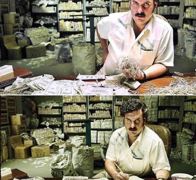Kisah Mafia Narkoba Pablo Escobar, Bakar Duit Rp20 M Demi Hangatkan Putrinya (39218)