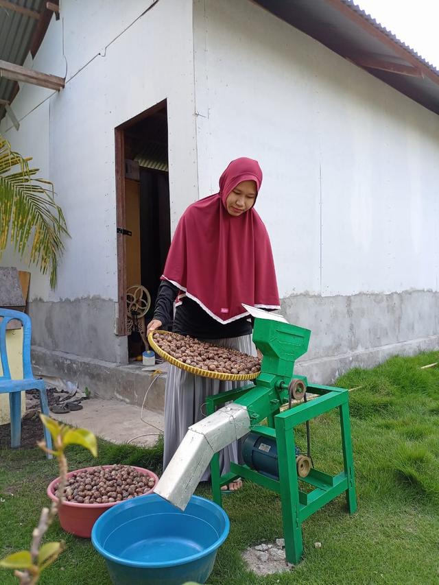 Gadis Bengkalis Ini Sukses Kembangkan Olahan Tepung dari Biji Pohon Karet (571881)