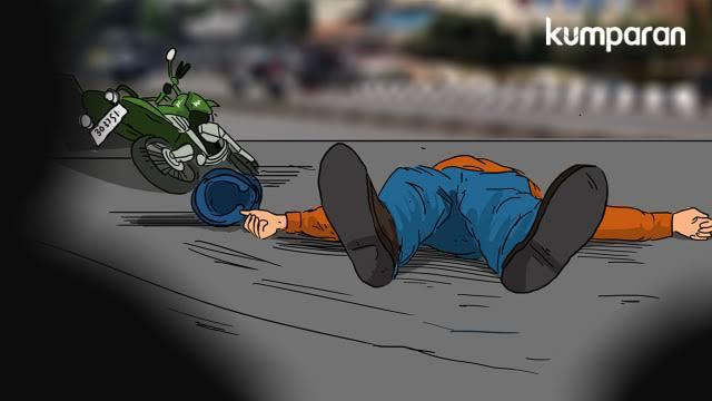 Kecelakaan Maut di Bandar Lampung, 2 Bocah Terseret hingga Tewas di Tempat (139521)