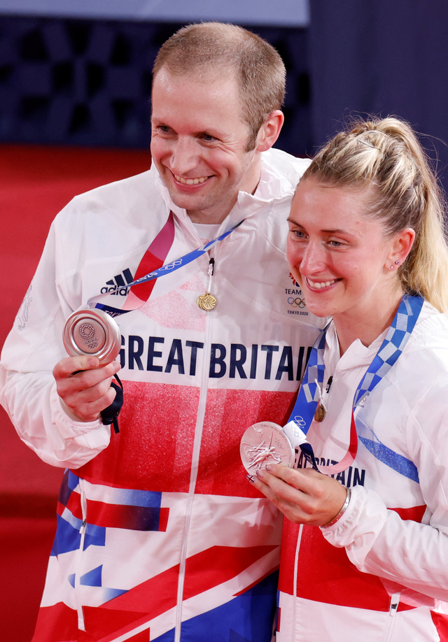 Laura & Jason Kenny: Pasangan Suami-Istri yang Kawinkan Medali Olimpiade 2020 (93120)