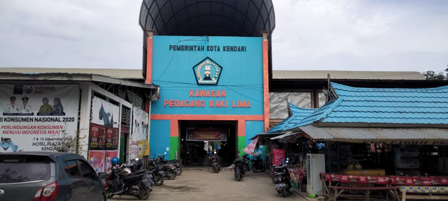 Foto: PPKM Level 3 Dilanjutkan, Sejumlah Pedagang di Kendari Pilih Menutup Lapak (676788)