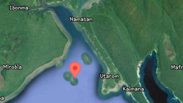 Cuaca Buruk, Long Boat Berpenumpang 14 Orang Dikabarkan Hilang di Pulau Mandais (34543)
