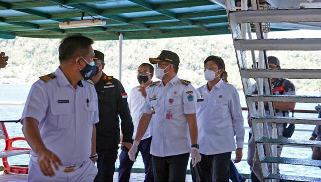 Bupati Minut Tinjau Kapal Isoman, Kerjasama Pemerintah dan PT Pelni (577355)