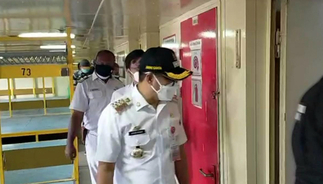 Bupati Minut Tinjau Kapal Isoman, Kerjasama Pemerintah dan PT Pelni (577356)