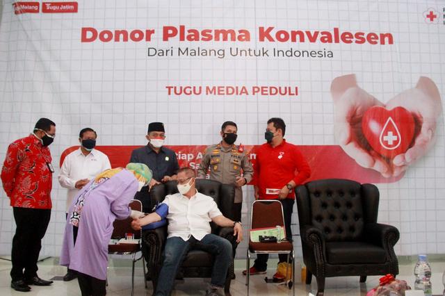 Kebutuhan Plasma Konvalesen di PMI Kota Malang Capai 351 Orang (10336)