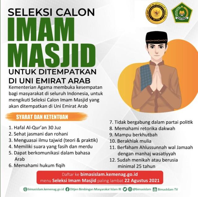 Cerita Dubes soal Rekrutmen 200 Imam dari Indonesia untuk UEA (89694)