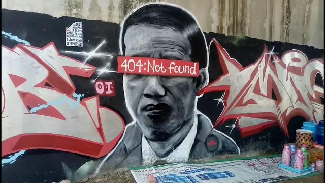 KSP: Mural yang Serang Jokowi Ganggu Ketertiban dan Minim Nilai Etika-Estetika (47354)