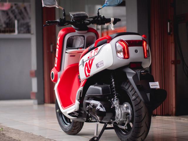 Motor Unik Yamaha QBIX Dijual Rp 100 Juta, Apa Kelebihannya? (5418)