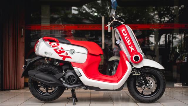 Motor Unik Yamaha QBIX Dijual Rp 100 Juta, Apa Kelebihannya? (5417)