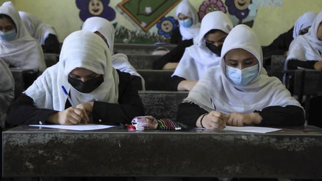 Survei: Mayoritas Warga Afghanistan Nilai Perempuan Pantas Kenakan Burqa (51696)