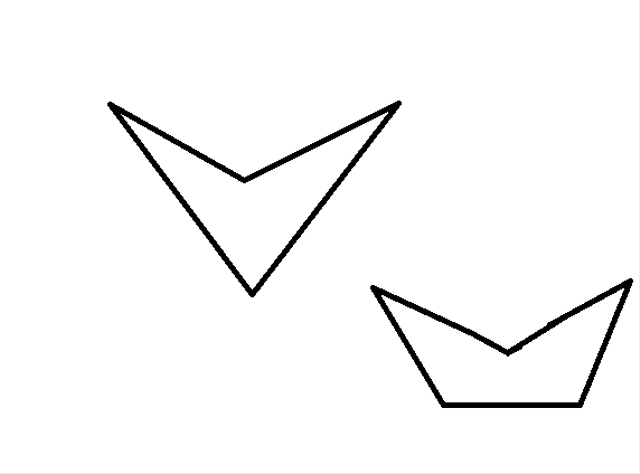 Definisi, Ciri-ciri dan Contoh Poligon Concave (85408)