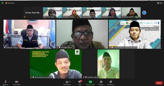 Wali Kota Malang Ajak Penyuluh Agama Wujudkan 'Binadamai' dan 'Nirkekerasan' (204152)