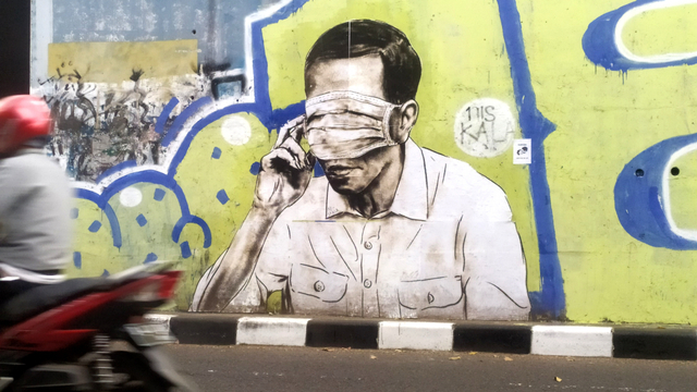KSP: Mural yang Serang Jokowi Ganggu Ketertiban dan Minim Nilai Etika-Estetika (47356)