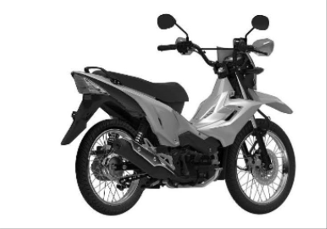 Foto: Sosok Motor Bebek Trail Honda yang Siap Masuk Indonesia (47432)