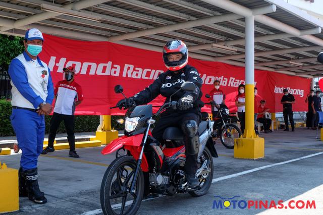 Foto: Sosok Motor Bebek Trail Honda yang Siap Masuk Indonesia (47437)