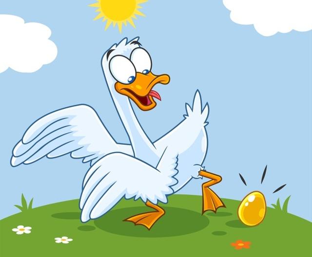 Dongeng Anak Pendek tentang Angsa dan Telur Emas (31101)