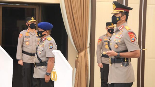 Mantan Kapolda Jawa Barat Rudy Sufahriadi Resmi Jabat Kapolda Sulteng (60957)