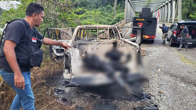 12 Aksi Kekerasan KKB Senat Soll di Yahukimo Papua  (57075)
