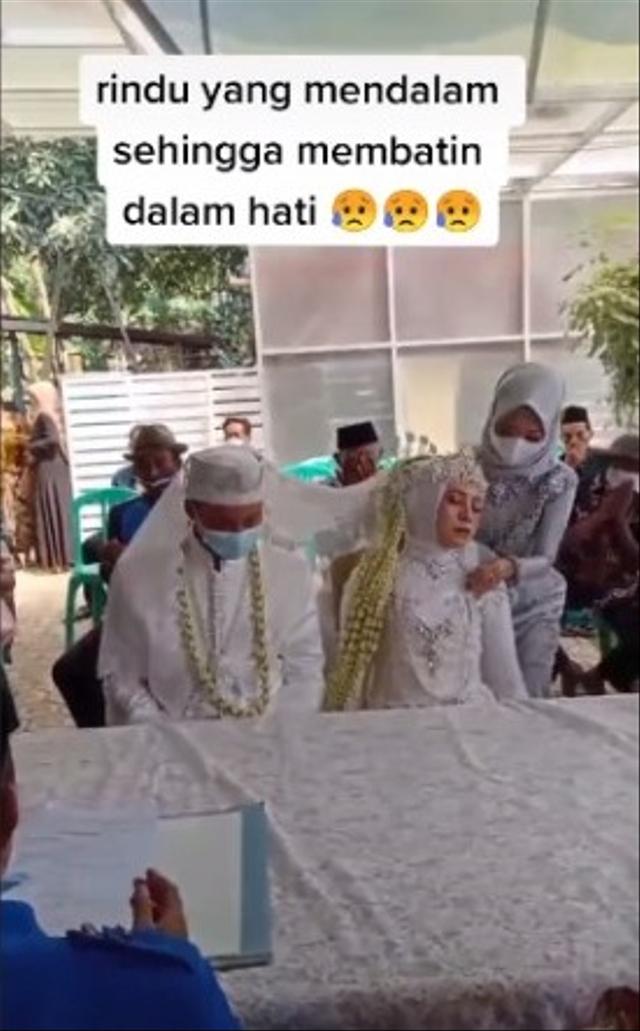 Momen Tak Terduga Wanita Pingsan di Meja Akad Nikah, Reaksi Suami Jadi Sorotan (324690)