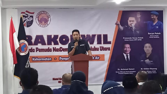 Prananda Surya Paloh: NasDem Wajib Menang Pemilu 2024 di Maluku Utara (57576)