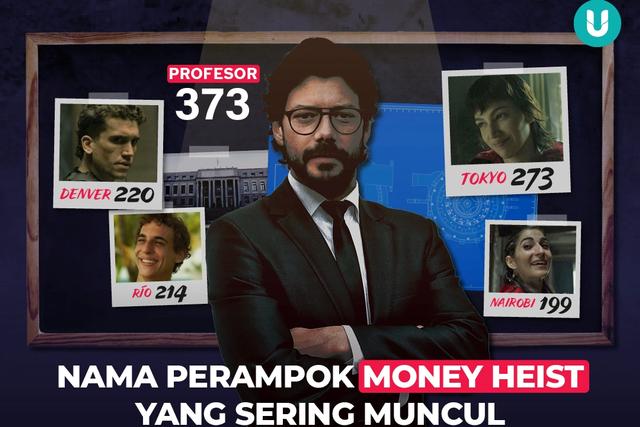Kami Membedah Money Heist Season 1-5: Profesor Disebut 373 Kali, Tokyo 273 (2146)