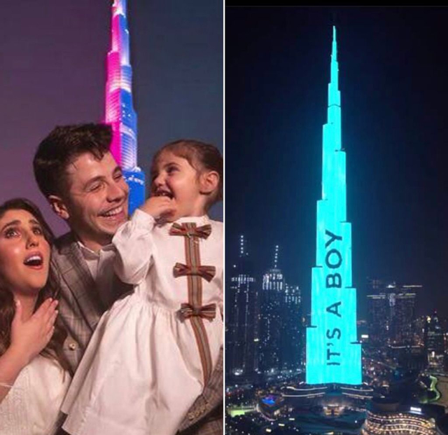 Pasangan Suami Istri Sewa Burj Khalifa untuk Umumkan Jenis Kelamin Anak (244051)
