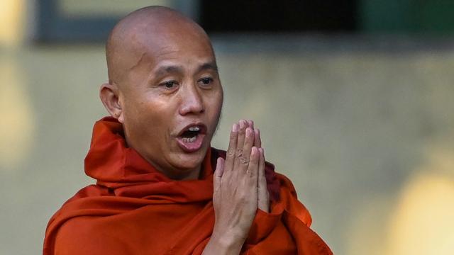 Junta Militer Myanmar Bebaskan Biksu Anti-Muslim dari Penjara (372280)