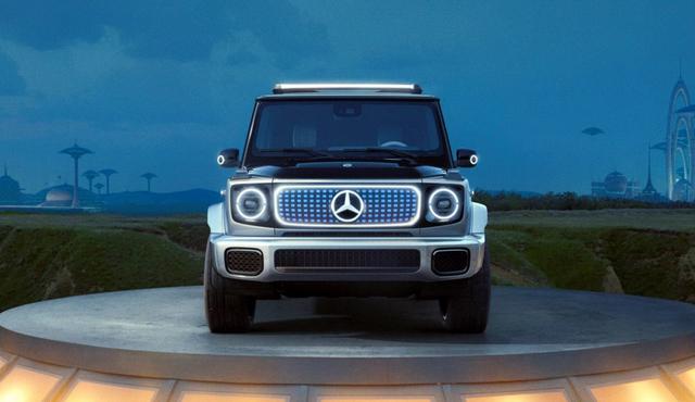 Jip Legendaris Mercedes-Benz G-Class Akan Disuntik Tenaga Listrik, Anti Boros (45173)