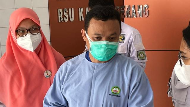 Korban Luka Bakar 98% Kebakaran LP Tangerang Akan Dapat Penanganan Bedah Plastik (60476)