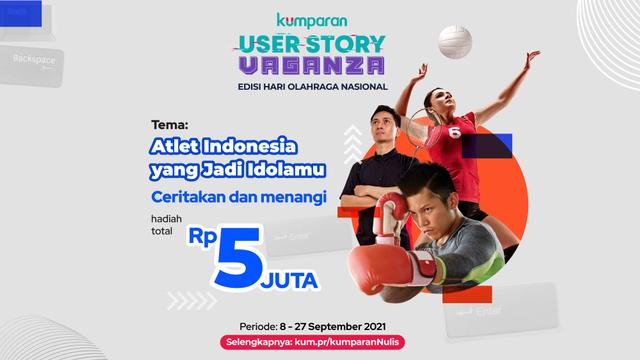 Ceritakan Atlet Indonesia yang Menjadi Idolamu dan Menangi Total 5 Juta Rupiah (122161)