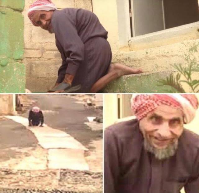 Demi Salat Jamaah, Kakek Difabel Rela Jalan Merangkak ke Masjid Selama 65 Tahun (148454)