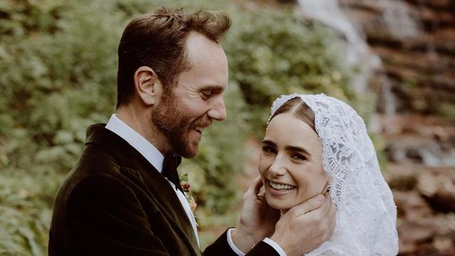 Lily Collins Menikah dengan Charlie McDowell, Bak Dongeng yang Jadi Kenyataan (86317)