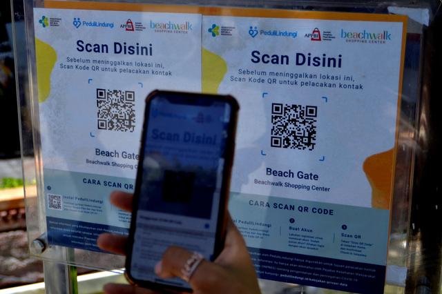 Aplikasi PeduliLindungi Akan Diuji Coba di Pasar Rakyat