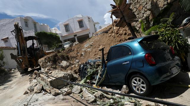 Foto: Dampak Kerusakan usai Serangkaian Gempa Susulan di Meksiko (66656)