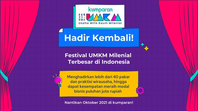 Festival UMKM kumparan Kembali Hadir Tahun Ini! (431585)