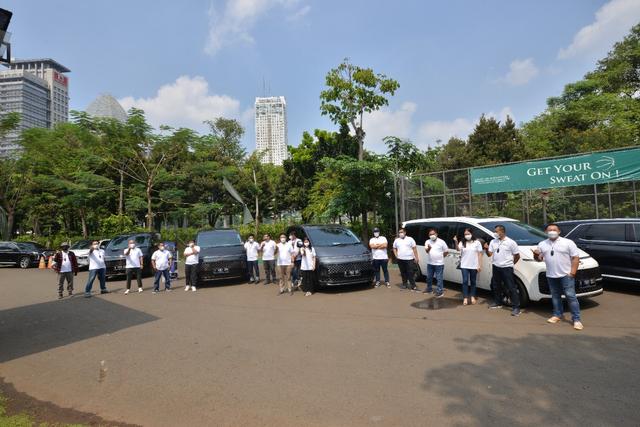 Foto: Perjalanan Jakarta-Bandung dengan Hyundai Staria (743954)