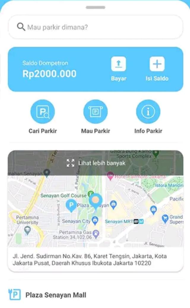 Catat, 5 Lokasi Parkir di Jakarta yang Wajib Pakai Aplikasi (1228706)