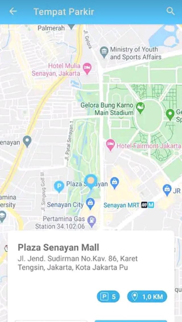 Catat, 5 Lokasi Parkir di Jakarta yang Wajib Pakai Aplikasi (1228705)