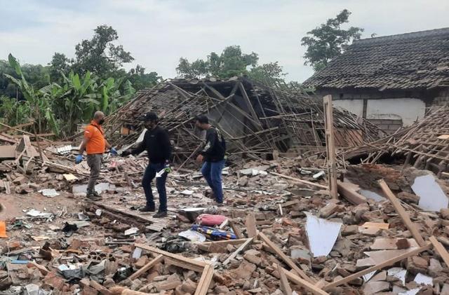 Ledakan di Pasuruan Terdengar Hingga 5 Kilometer, Diduga Berasal dari Bom Ikan (5809)