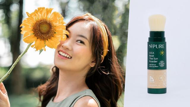 Inovasi Baru, N'Pure Merilis Sunscreen Bubuk yang Bikin Makeup Anti Geser (432567)
