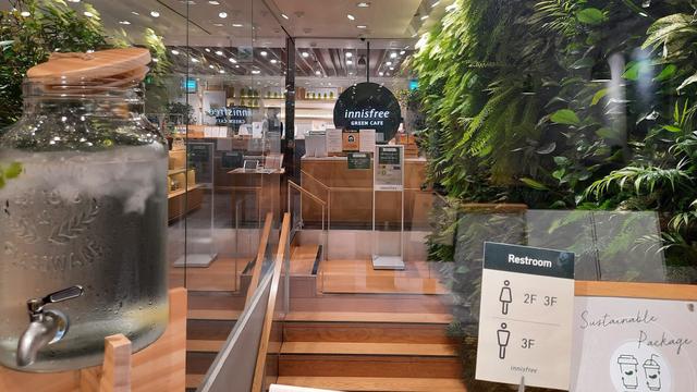 Acehkini Jalan-jalan: Nuansa Jeju di Inisfree Green Cafe Seoul, Korea Selatan (6668)