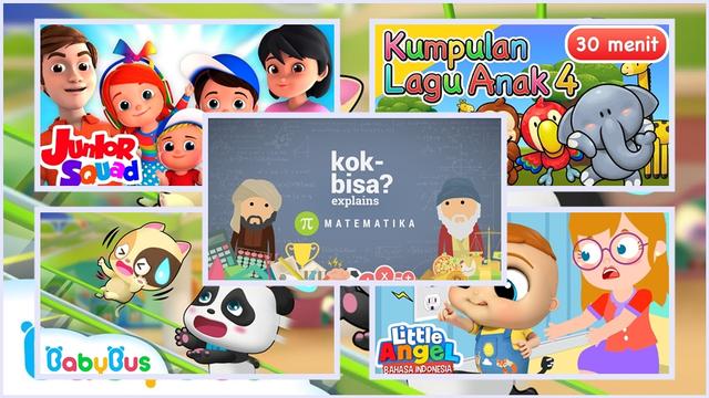 Channel Youtube Edukasi Anak Indonesia, Bikin Belajar Lebih Seru! (106936)