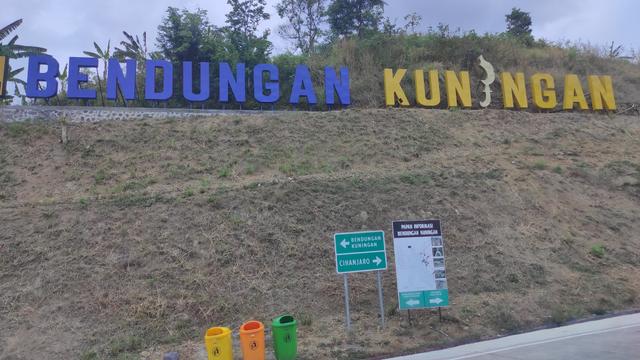 Kecewa! Bendungan Kuningan yang Diresmikan Jokowi Belum Bisa Dikunjungi Warga (150636)