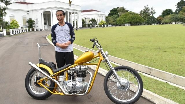 Harta Jokowi Naik tapi Motor Chopper Emas Tak Ada di Daftar, Dijual? (70132)