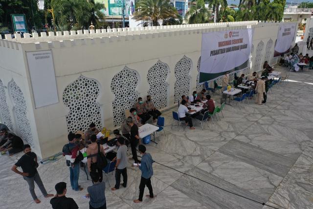 Kasus Baru COVID-19 di Aceh Terus Menurun (11101)