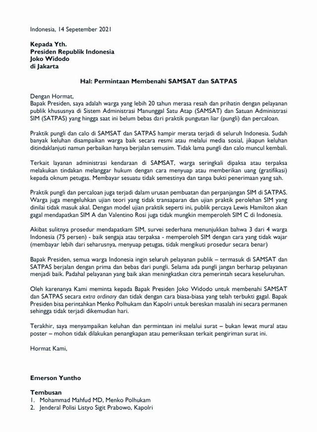 Surat Terbuka untuk Jokowi: Valentino Rossi Tak Mungkin Dapat SIM C di Indonesia (54182)